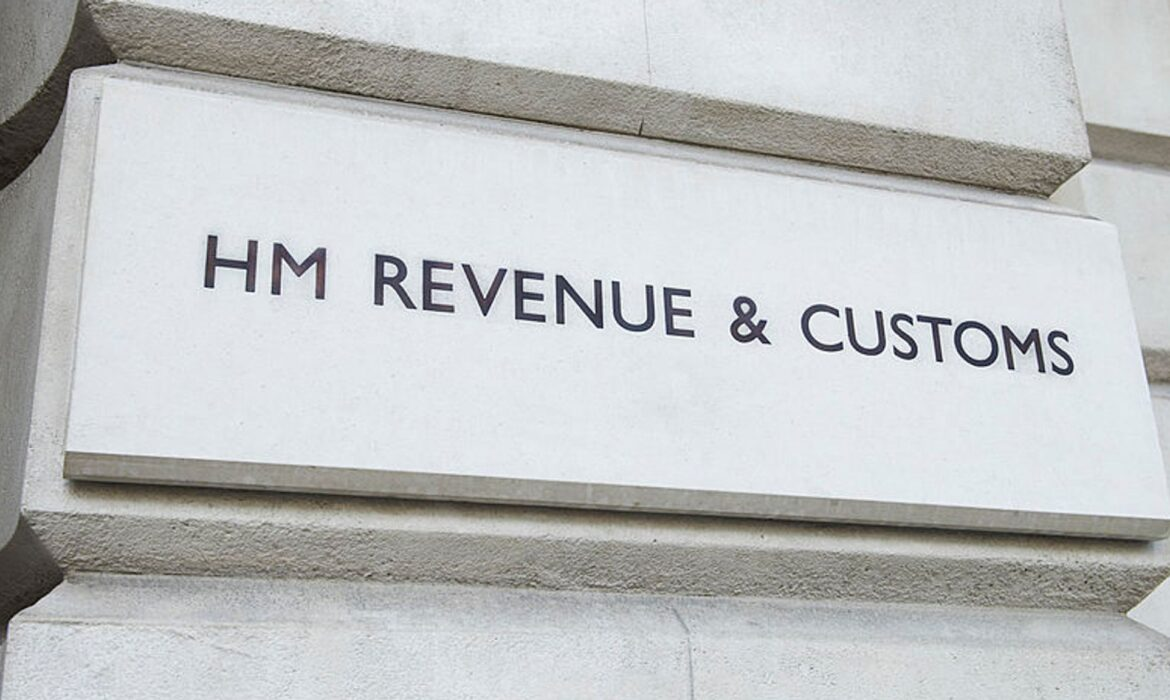HMRC buillding sign