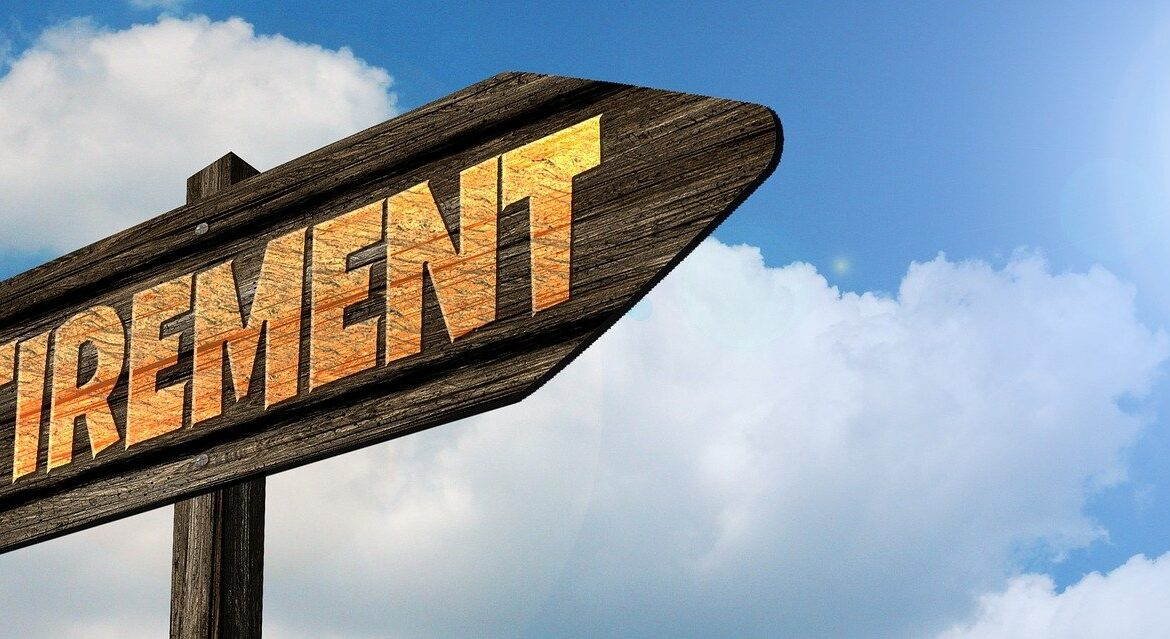 image: signpost pointing to the word retirement